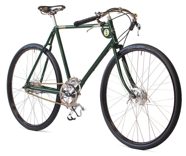 "28"" PASHLEY ""Speed 5"" british-racing-green (versch. Rahmenhöhen)"