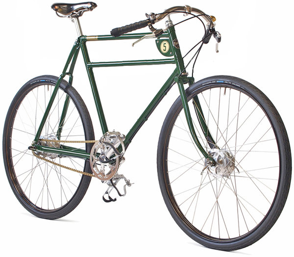 "28"" PASHLEY ""Speed 5"" british-racing-green ca. 62 cm  (24.5')"