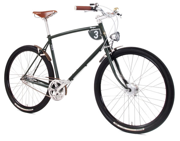 "27.5"" PASHLEY ""MORGAN 3"" british-racing-green (versch. Rahmenhöhen)"